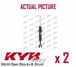2 x FRONT AXLE SHOCK ABSORBERS PAIR STRUTS SHOCKERS KYB OE QUALITY 341844