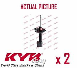 2 x NEW KYB FRONT AXLE SHOCK ABSORBERS PAIR STRUTS SHOCKERS OE QUALITY 334375
