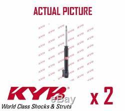 2 x REAR AXLE SHOCK ABSORBERS PAIR STRUTS SHOCKERS KYB OE QUALITY 333079