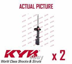 2 x REAR AXLE SHOCK ABSORBERS PAIR STRUTS SHOCKERS KYB OE QUALITY 334126