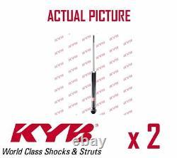 2 x REAR AXLE SHOCK ABSORBERS PAIR STRUTS SHOCKERS KYB OE QUALITY 343411