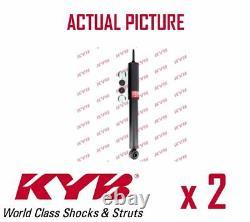 2 x REAR AXLE SHOCK ABSORBERS PAIR STRUTS SHOCKERS KYB OE QUALITY 344223