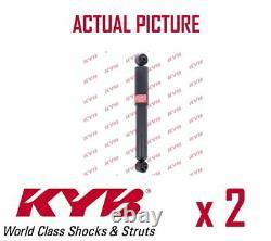 2 x REAR AXLE SHOCK ABSORBERS PAIR STRUTS SHOCKERS KYB OE QUALITY 349024