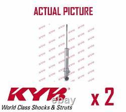 2 x REAR AXLE SHOCK ABSORBERS PAIR STRUTS SHOCKERS KYB OE QUALITY 551118