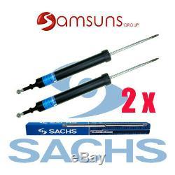 2x(2 stück) Original SACHS Stoßdämpfer Hinten SET 311409 E81/E82/E88/E90/E91/E93