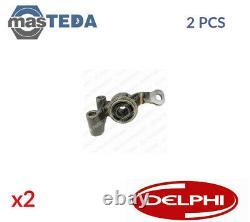2x DELPHI FRONT LOWER REAR CONTROL ARM WISHBONE BUSH TD665W G NEW OE REPLACEMENT