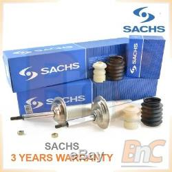 2x Genuine Sachs Heavy Duty Front Shocks Absorbers & Dusts Cover Set Bmw 5 E39