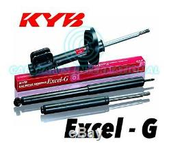 2x NEW KYB FRONT EXCEL-G Gas SHOCK ABSORBERS Part No. 365500
