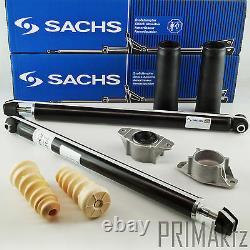 2x SACHS Stoßdämpfer + Staubmanschette + Domlager hinten für Mazda 5 CR19 CW