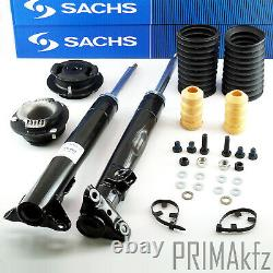 2x Sachs Shock Absorber+Dust Sleeve Strut Mount Mercedes W124 C124 S124