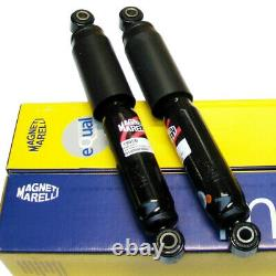 2x Stoßdämpfer Gasdruck hinten FIAT Ducato 250 17-18Q Heavy Magneti Marelli