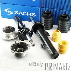 5x Sachs Shock Absorber + Strut Mount+Dust Sleeve BMW 1er E81 E87 E82 E88