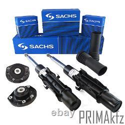 6x Sachs Shock Absorber+Dust Sleeve + Strut Mount Mercedes Sprinter VW Crafter