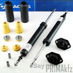9x SACHS Stoßdämpfer Domlager Staubschutzsatz hinten BMW E81 E82 E88 E90 E91