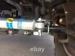 Bilstein 5100 Dual Steering Stabilizer Kit for 05-20 Ford F250/F350 Super Duty