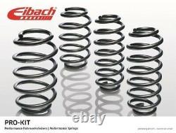 EIBACH Pro-Kit Tieferlegungsfedern für VW POLO 6R1 bis zu 25mm Vorne 30mm Hinten