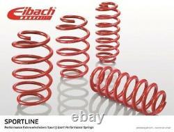 EIBACH Sportline Tieferlegungsfedern VA bis 50mm HA 35mm für Audi A3 VW Golf 6