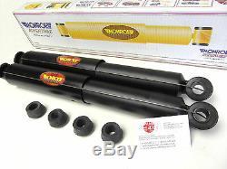 Fits NISSAN PATROL GR Y61 2.8/3.0TD 2 x Rear Shock Absorbers MONROE ADVENTURE