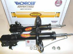 Fits NISSAN X-TRAIL T31 09/2007-ON 2 x MONROE ADVENTURE FRONT SHOCK ABSORBERS