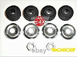 Fits TOYOTA ESTIMA EMINA LUCIDA 1993-2000 2 x Rear Shock Absorbers PIN+PIN Fit