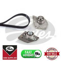 Gates Timing Belt Water Pump Kit For Mitsubishi Nissan Renault Vauxhall Volvo