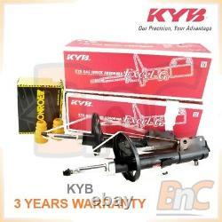 Genuine Kayaba Hd Rear Shock Absorbers & Dust Covers Kit For Toyota Corolla E11