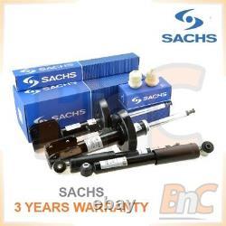 Genuine Sachs Heavy Duty Shock Absorbers + Bump Stops Set Opel Zafira A