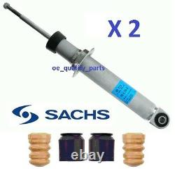 SACHS BMW 7 E65 E66 E67 Rear Suspension Shock Absorber Dampers + Dust Stop Kit