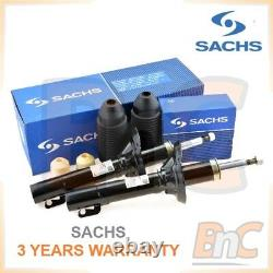 Sachs Heavy Duty Front Shock Absorbers + Dust Cover Kit Seat Toledo II Leon