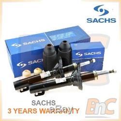 Sachs Heavy Duty Rear Shock Absorbers + Dust Cover Kit Vw Golf IV 4 Bora