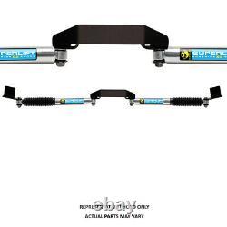 Superlift Dual Steering Stabilizer Kit SL SS Bilstein (Gas Pressure)-05-21 F25