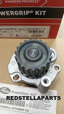 Timing Belt Kit & Water Pump Audi A3 Seat Skoda Vw 1.9 Tdi Sdi 8v Kp15559xs-1