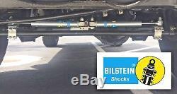 2007-2018 Jeep Wrangler Jk Bilstein 5100 Double Amortisseur De Direction Pour Les Kits De Levage