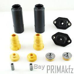 2 Sachs Stoßdämpfer + Domlager + Staubschutzsatz Hinten Bmw E81 E82 E88 E90 E91