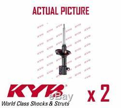 2 X Essieu Avant Paire Amortisseurs Struts Shockers Kyb Oe La Qualite 334255