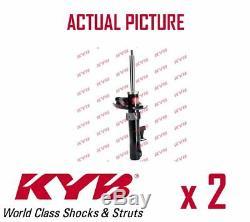 2 X Essieu Avant Paire Amortisseurs Struts Shockers Kyb Oe La Qualite 334701
