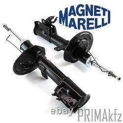 2x M. Marelli Stoßdämpfer Vorne Domlager Anschlagpuffer Fiat Panda II 169 Gaz