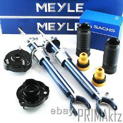 2x Meyle Stoßdämpfer + Domlager Vorderachse Mercedes E-klasse W211 S211 Cls C219