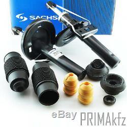 2x Sachs 200419 Stoßdämpfer + Staubschutzsatz Domlager Galaxy Alhambra Vw Sharan