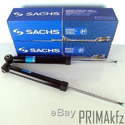 2x Sachs 312 783 Stoßdämpfer Hinten Audi A4 B6 + Avant Neu