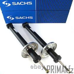 2x Sachs Stoßdämpfer + Domlager Staubmanschette Hinteren Für Seat Vw Golf III IV