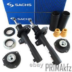 2x Sachs Stoßdämpfer Staubmanschette Domlager Vorne Für Audi A3 Seat Skoda Ø50mm