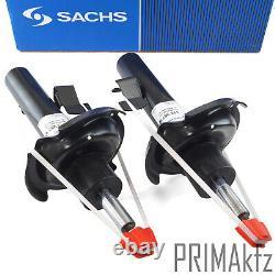 2x Sachs Stoßdämpfer + Staubmanschette Domlager Vorne Für Ford C-max Focus II