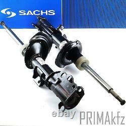 2x Sachs Stoßdämpfer Vorne + Marken Domlager + Koppelstangen Mercedes Vito W639