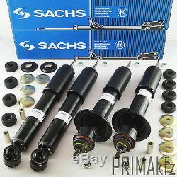 4x Sachs 311367 311995 Shock Absorber Avant + Arrière Mercedes Classe M W163