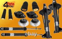 Bmw E36 318 Shock Absorber Set Rear Front Top Mount Sachs Dampers Kit Standard