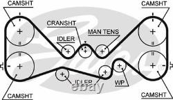 Ceinture De Chronométrage Pour Subaru Legacy I, Bc, Ej20-gn, Legacy I Estate, Bc, Bjf, Ej20, Ej20g
