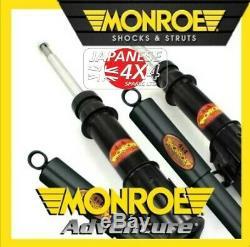 Convient Suzuki Jimny Monroe Adventure Avant Amortisseurs X 2 Pour 1998 Sur