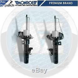 Pour Ford Focus C-max Mk2 2x Avant Monroe Choc Shockers Absorbeurs Pair Neuf