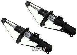 Sachs 2x Shock Absorbers Dampers Paire Kit Avant Pression De Gaz 554 046